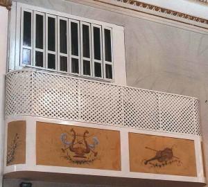 balcone lato ufficio
