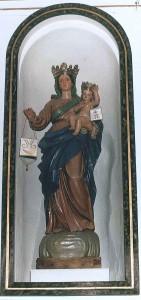 statua madonna del carmine